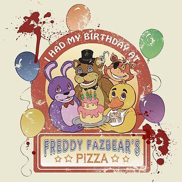 Freddy Fazbear's Birthday! (survivor version) by oriana132
