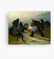 Warriors Of Darkness Canvas Print