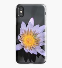 Lavender Water Lily iPhone Case