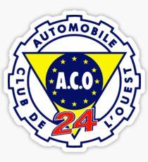 Automobile Club de l'Ouest A.C.O. Sticker