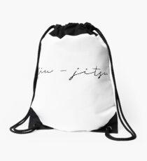 Jiu-Jitsu Drawstring Bag
