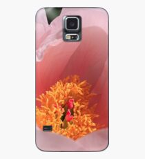 Peek Inside Pink Peony Case/Skin for Samsung Galaxy