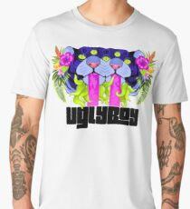UglyBoy Surreal Tiger (alt colors)  Men's Premium T-Shirt