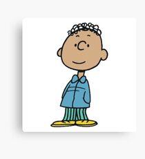 The Peanuts - Franklin Canvas Print