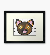 Tortie Cat  Framed Print