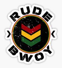 Rude Bwoy Sticker