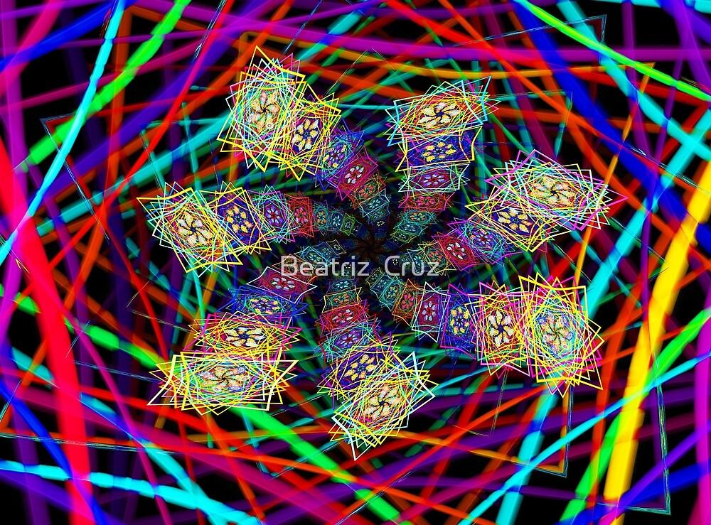 Flower Step Maze by Beatriz  Cruz