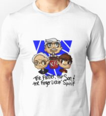 The Father, The Son, and The Finger Lickin' Spirit T-Shirt