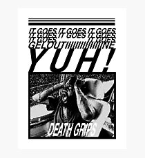 Death Grips Photographic Print