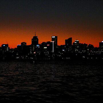 North Sydney (Gotham city?) by ojoe