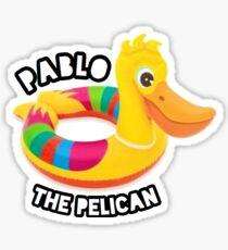 BB18 - Pablo The Pelican Sticker
