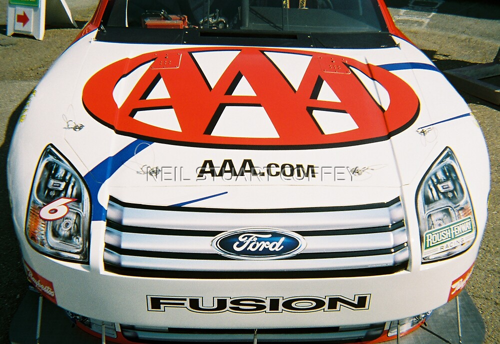 AAA NASCAR  by NEIL STUART COFFEY