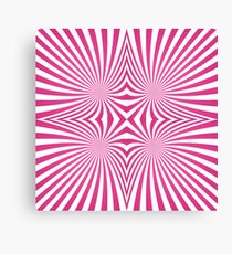 Pink hypnosis Canvas Print