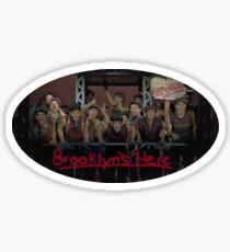 Newsies Brooklyn's Here Sticker