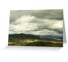 Snowdonia Landscape Greeting Card