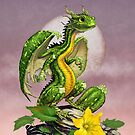Zucchini Dragon by Stanley Morrison