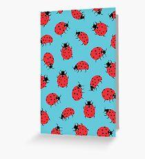 Ladybird Print Greeting Card