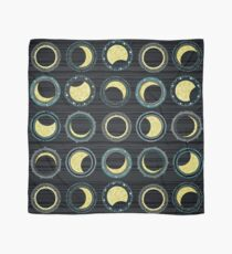 solar eclipse mandala Scarf