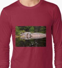 Rock And Pine Reflections Franklin Island T-Shirt