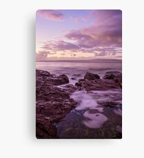 Sunrise at Bar Beach Canvas Print