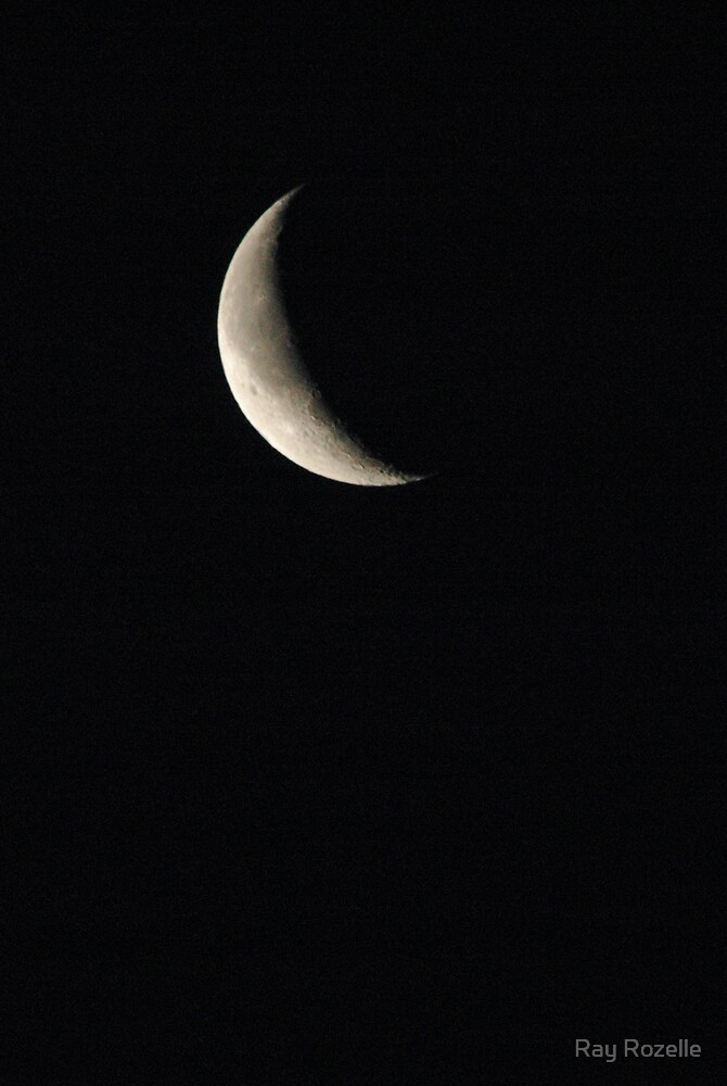 1/4 Moon by Ray Rozelle