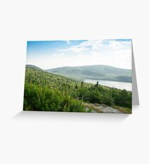 Cadillac Mountain Greeting Card