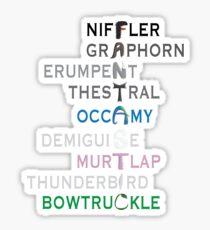 FANTASTIC Beasts Sticker