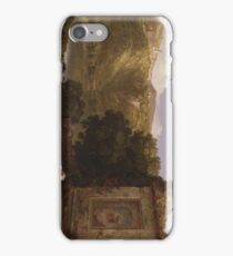 Il Penseroso 1845 Thomas Cole iPhone Case/Skin