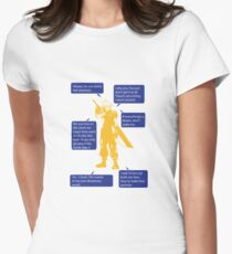 Cloud Strife Final Fantasy VII Quotes T-Shirt