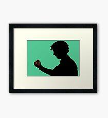 Sherlock, I.O.U. Framed Print