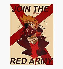 Tord Eddsworld War Poster Photographic Print
