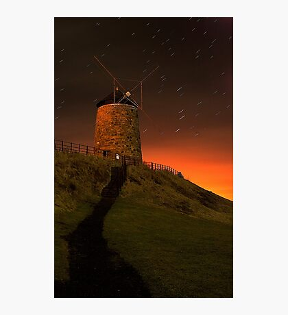 St Monans Windmill Photographic Print