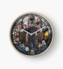 Final Fantasy XV Stained Glass Clock