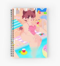 Bovine Babe Spiral Notebook