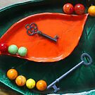Pickle Dishes Keys Marbles by marybedy
