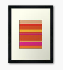 Panchito Deconstructed Framed Print