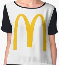 McDonald's Logo Women's Chiffon Top