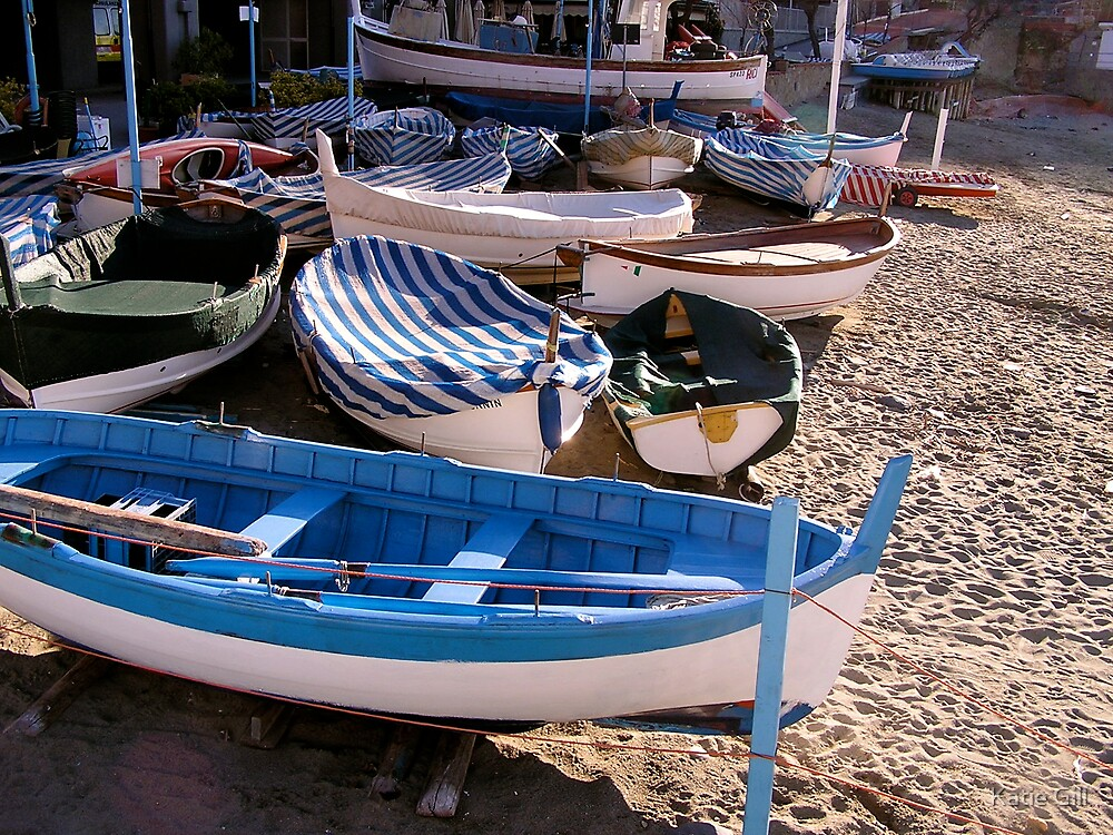 Boats by Katie Gill