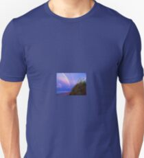 Double rainbow over dune T-Shirt