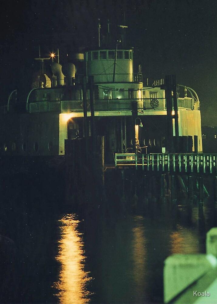 Washington State Ferry Illahee, 1976 by Koala