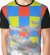 Cloud with Pattern 4-1 Graphic T-Shirt