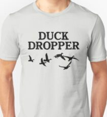 Duck Dropper Duck Hunting Shirt Dark Unisex T-Shirt