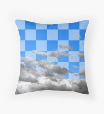 Cloud with Pattern 4.0-1 Throw Pillow