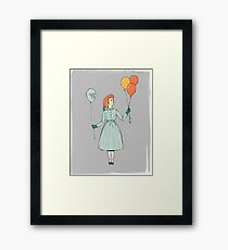 Circus Outfit Framed Print