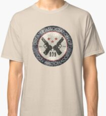 Greater Association of Gun Aficionados  (Preacher) Classic T-Shirt