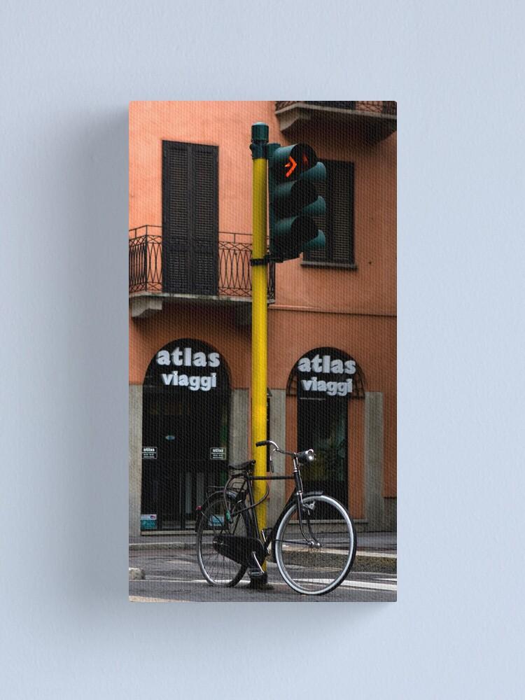 Alternate view of Bike Canvas Print