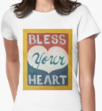 Bless Your Heart Women's Fitted T-Shirt
