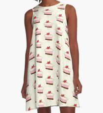 The reason why we love desserts... A-Line Dress