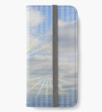 Cloud with Pattern 10 iPhone Wallet/Case/Skin