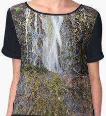 Mini Canyon Waterfall  Women's Chiffon Top